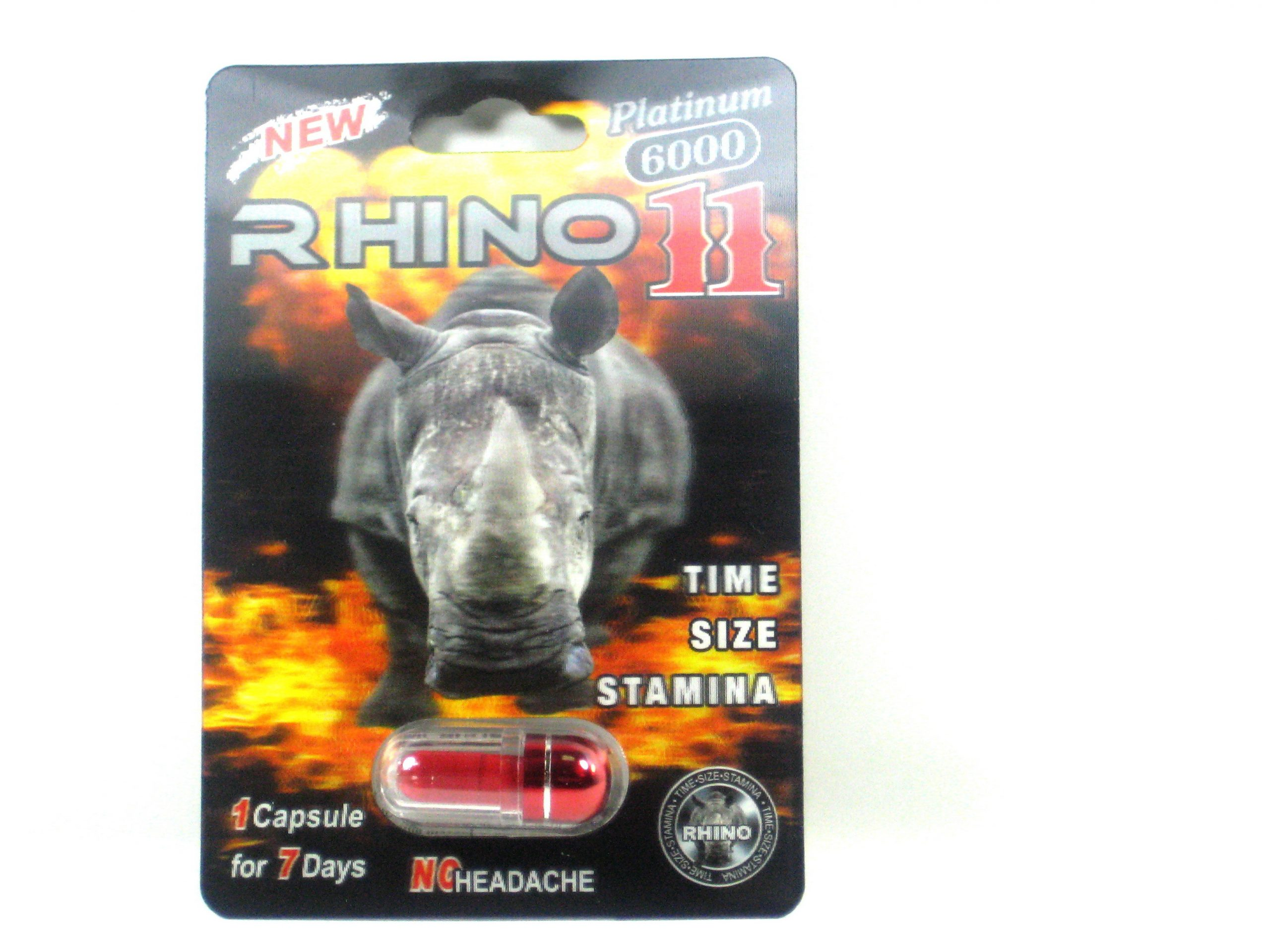 New Rhino 11 Platinum Male Enhancement- 3500mg