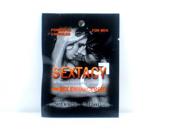 SEXTACY Male Sex Enhancement- 2 capsules