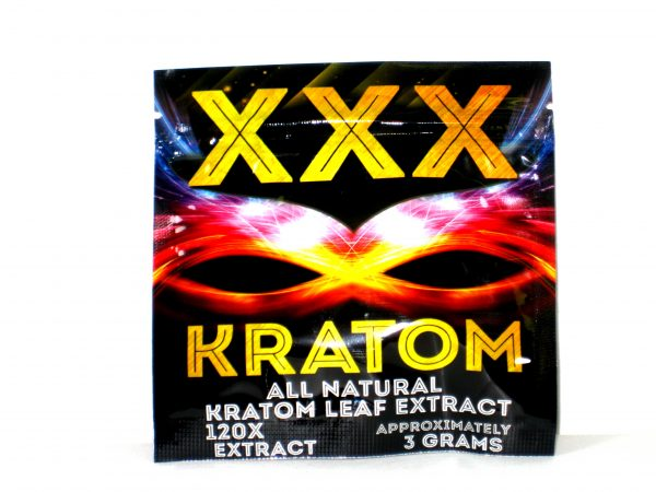 XXX Kratom 5ct All Natural Kratom Leaf Extract-120x 3g