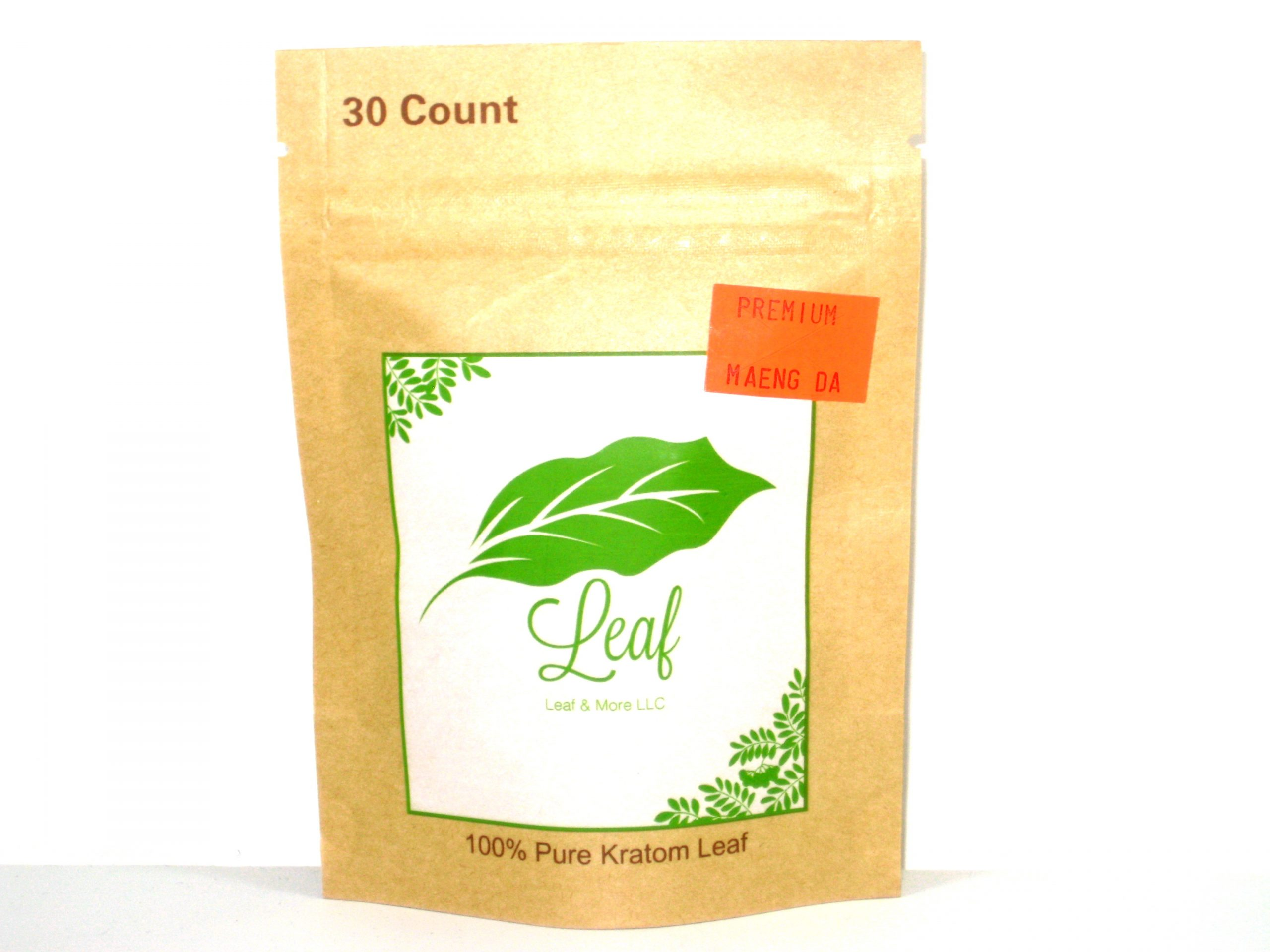 Leaf Maeng Da Kratom- 30 caps