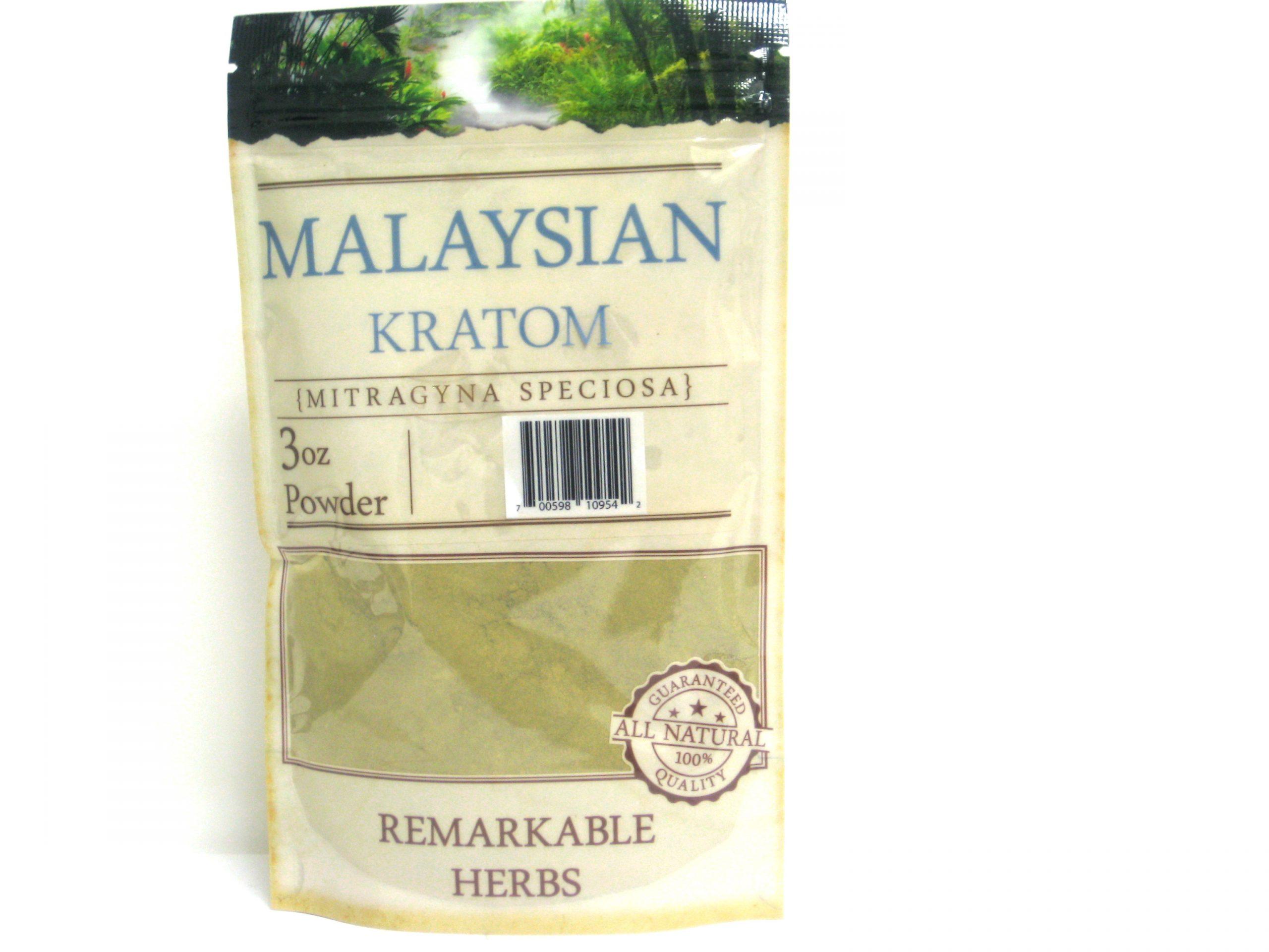 Kratom Malaysian Powder- 3oz