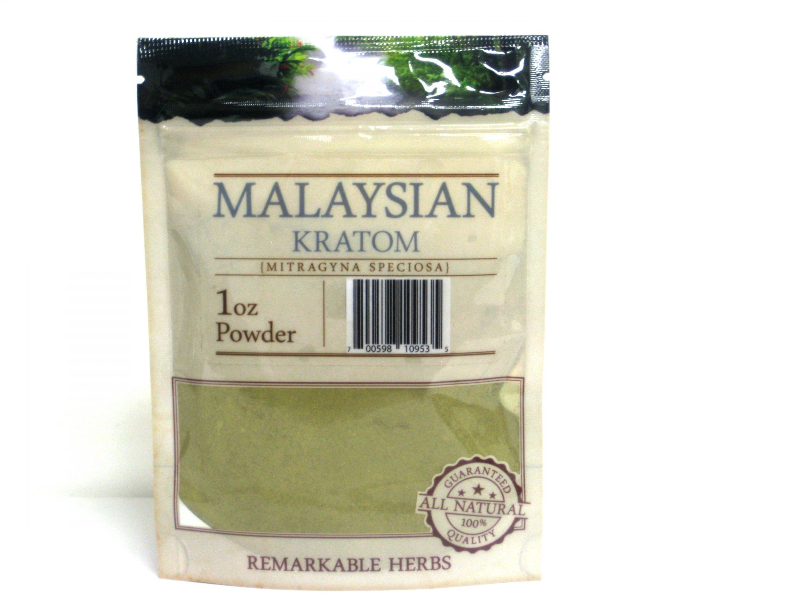 Kratom Malaysian Powder- 1oz
