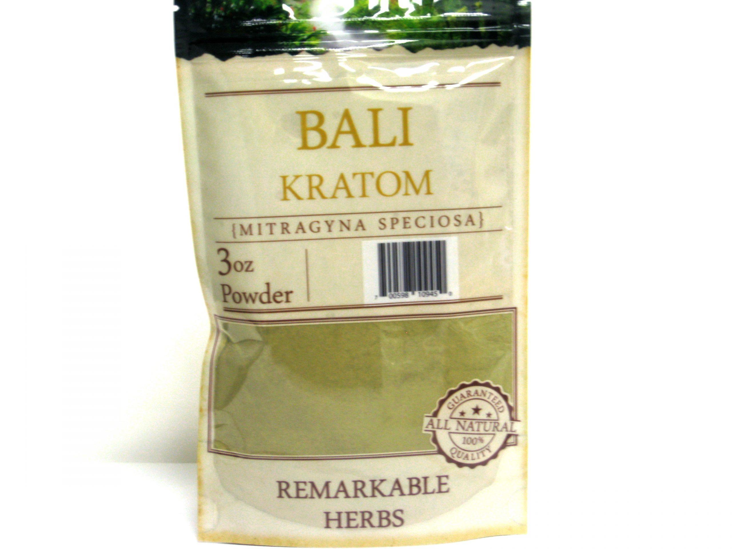 Kratom Bali Powder- 3oz