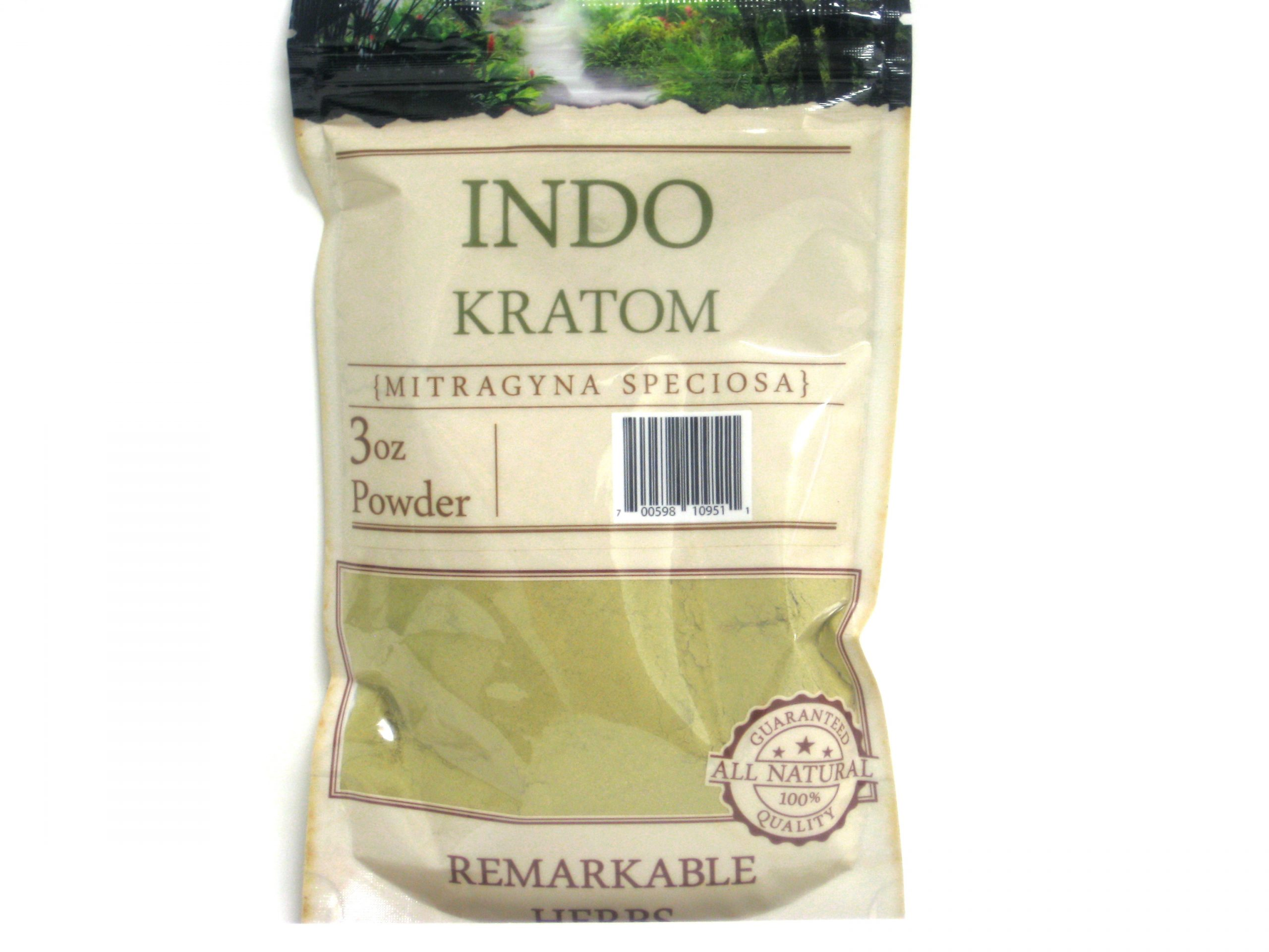 Kratom Indo Powder- 3oz