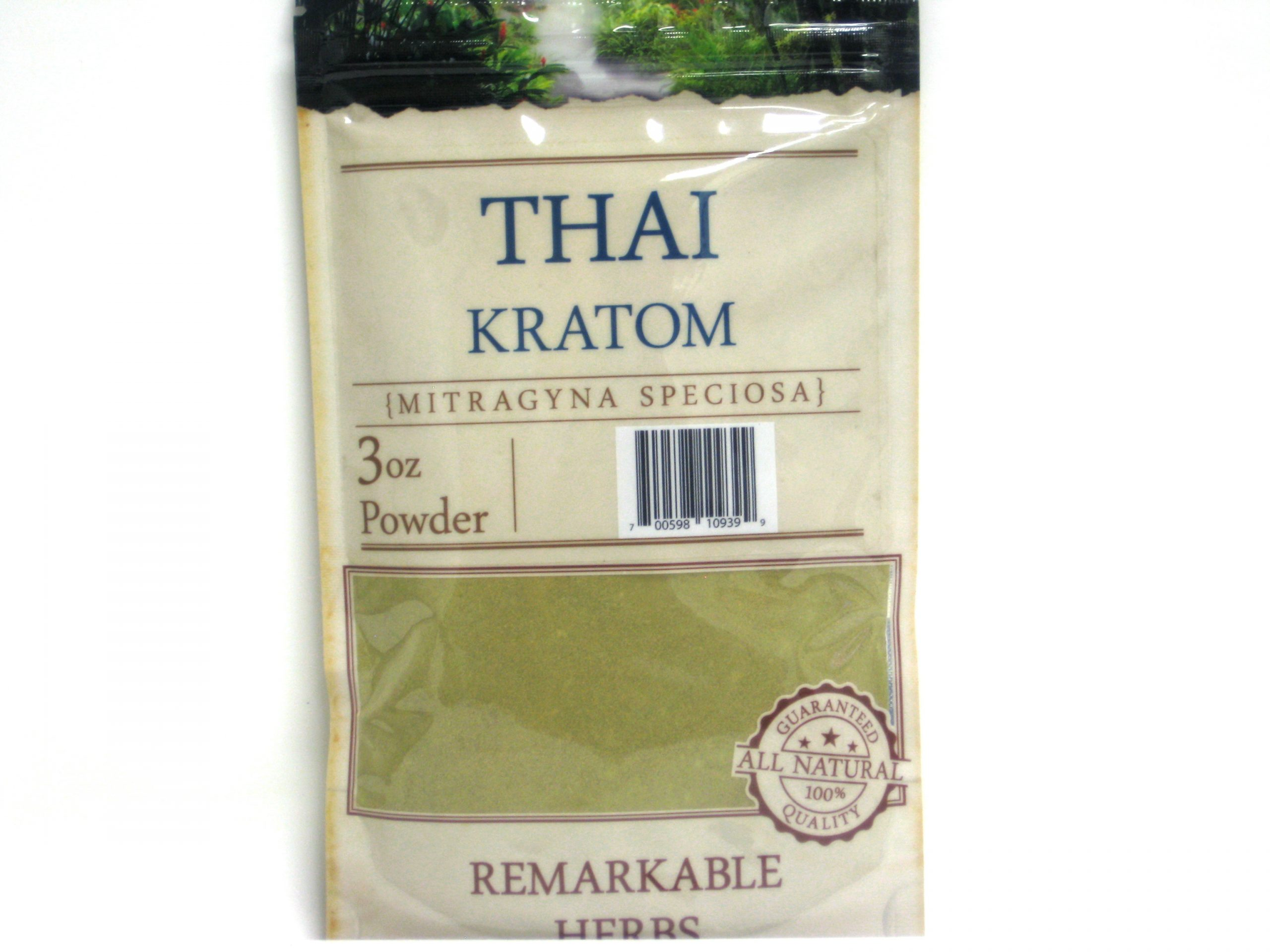 Kratom Thai Powder- 3oz