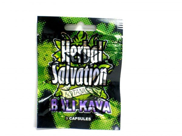 Herbal Salvation Bali Kava- 5 capsules