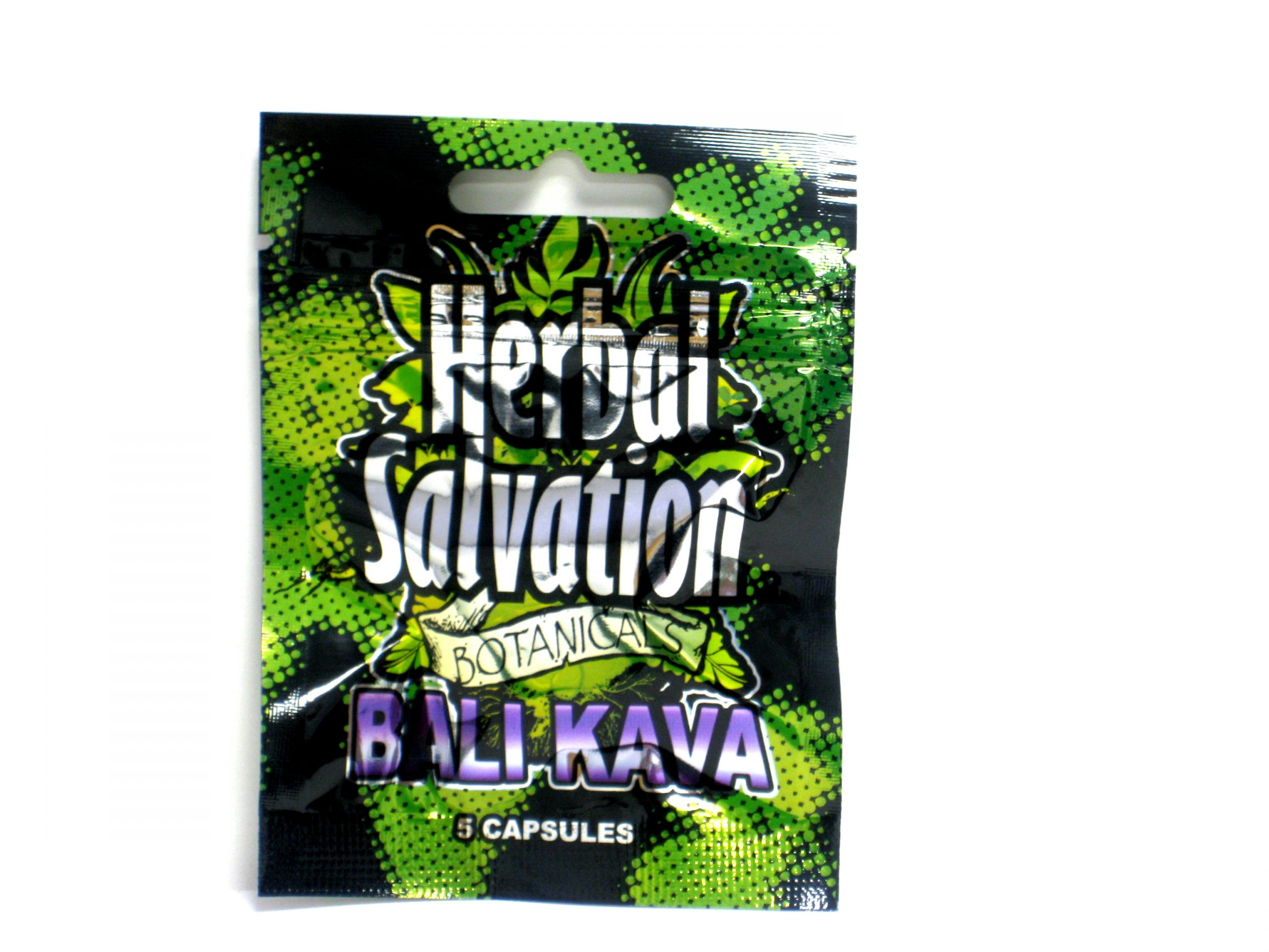 Herbal Salvation Bali Kava- 5 capsules