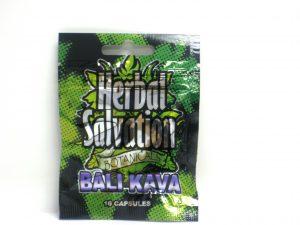 Herbal Salvation Bali kava-10 capsules