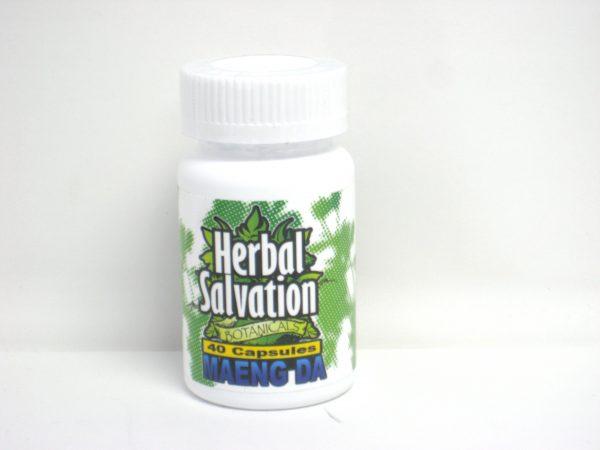 Herbal Salvation Maeng Da Kratom- 40 capsules