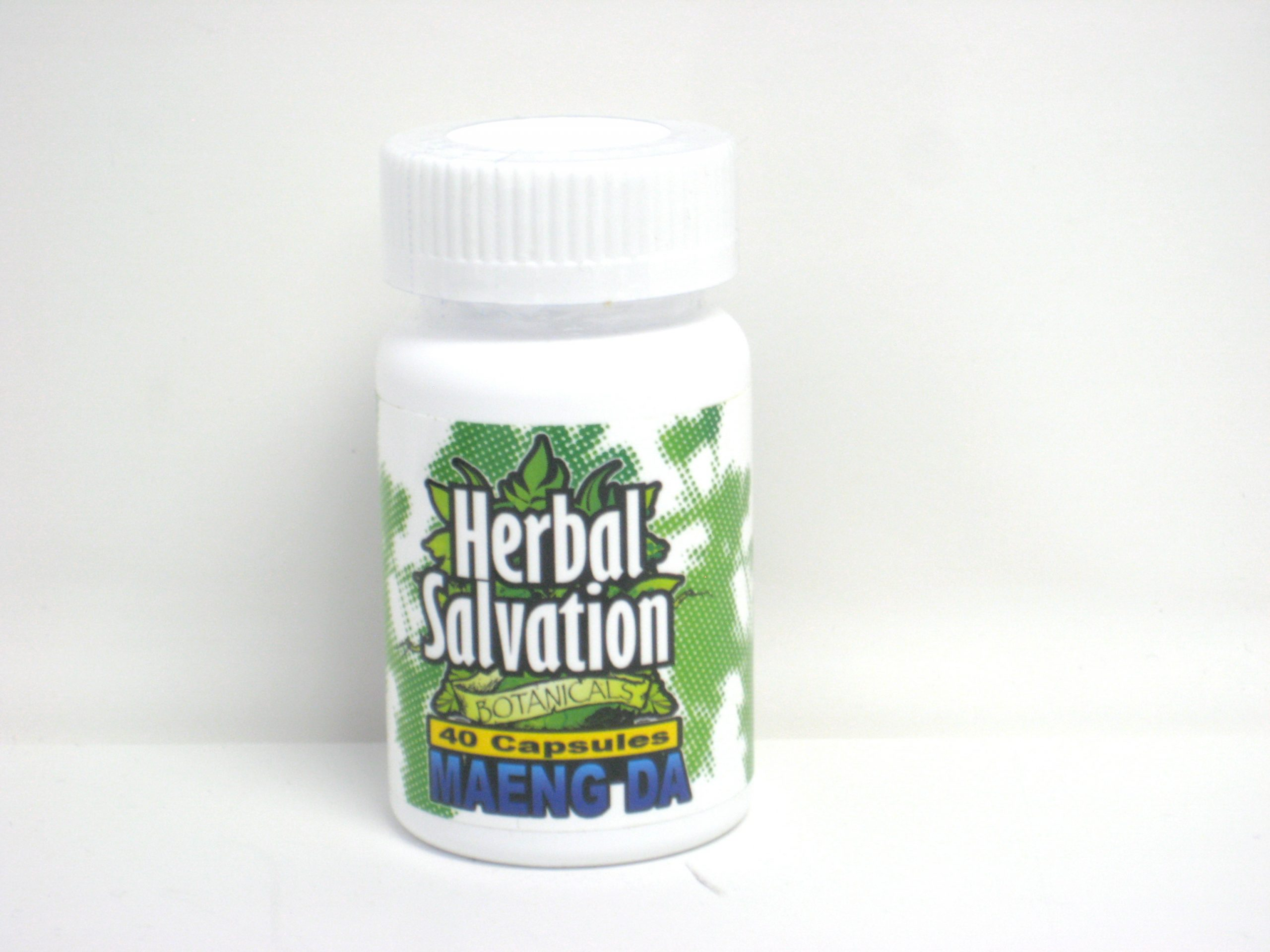 Herbal Salvation Maeng Da Kratom- 40 capsules