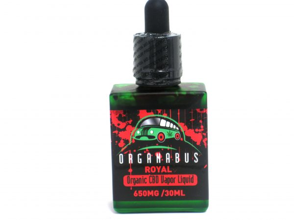 Organabus 650mg/ 30ml CBD Vape Liquid