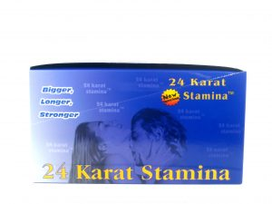 24 Karat Stamina Male enhancement- 1 pill