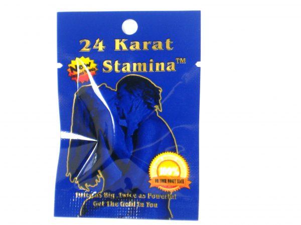 24 Karat Stamina Male enhancement- 1 pill