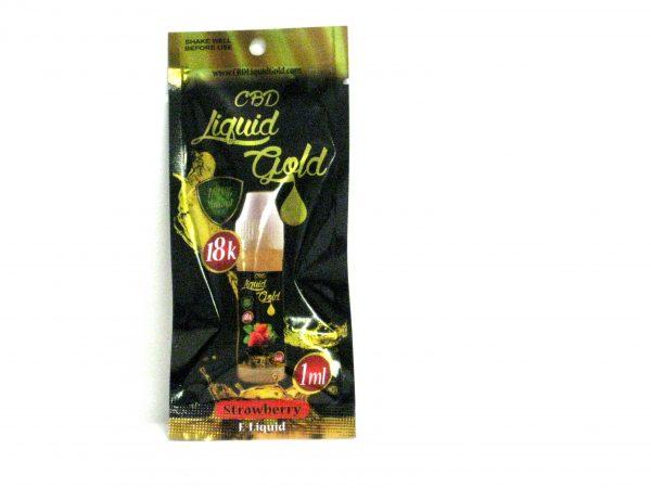 CBD Liquid Gold 18K SUPER CONCENTRATED E-LIQUID - 1ml