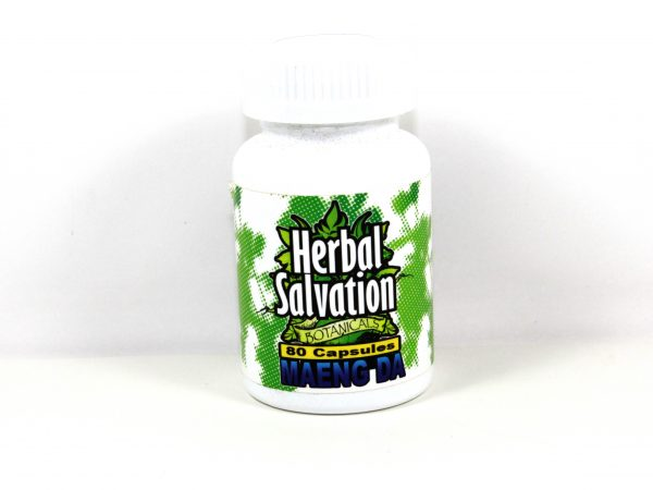 Herbal Salvation Maeng Da Kratom- 80 capsules