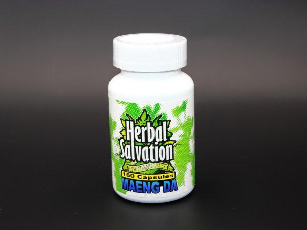 Herbal Salvation Maeng Da Kratom- 160 capsules