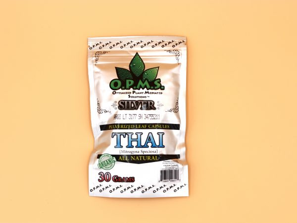 OPMs Maeng Da Kratom silver thai 30g- 60 caps
