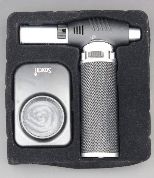 """Scorch Torch Lighter 5.5"""" tall with Gift Box"""