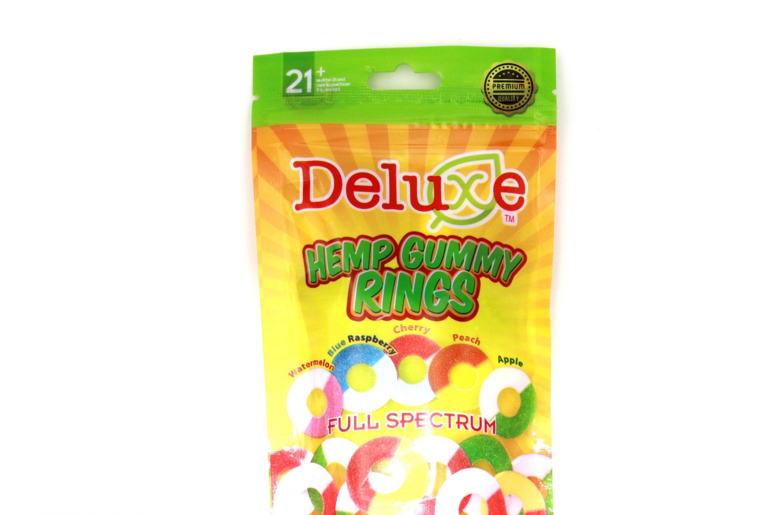 DELUXE CBD HEMP GUMMY RINGS- SWEET