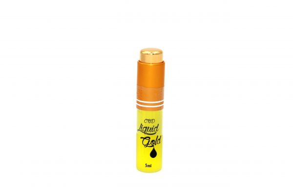 CBD Liquid Gold 18K SUPER CONCENTRATED E-LIQUID - 5ml
