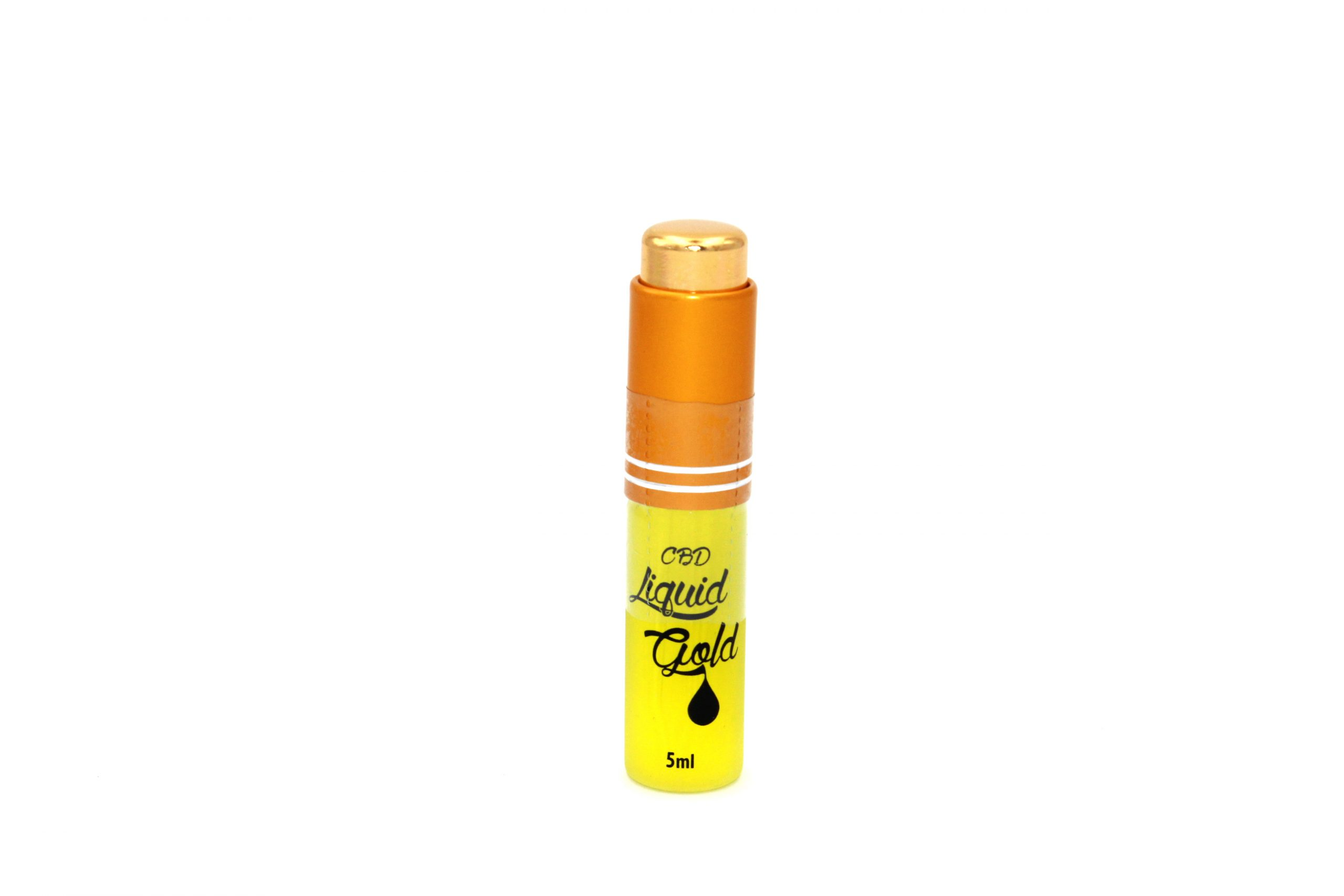 CBD Liquid Gold 18K SUPER CONCENTRATED E-LIQUID - 5ml