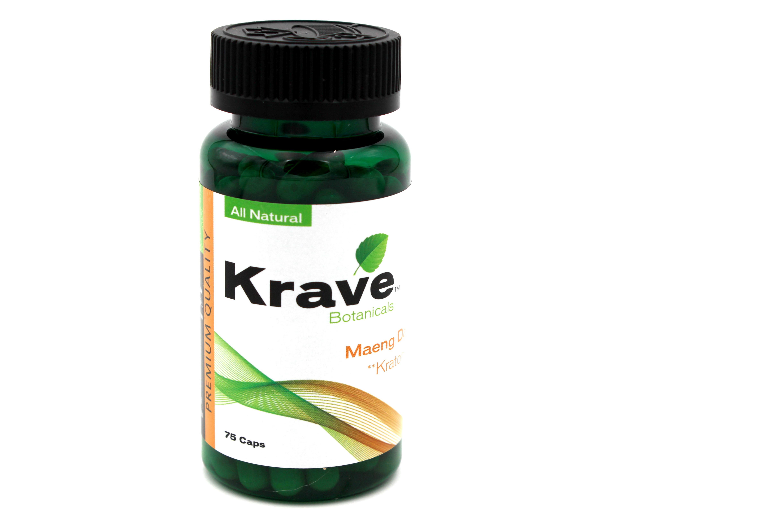 KRAVE MAENG DA KRATOM- 75 CAPS - Novelty Choice