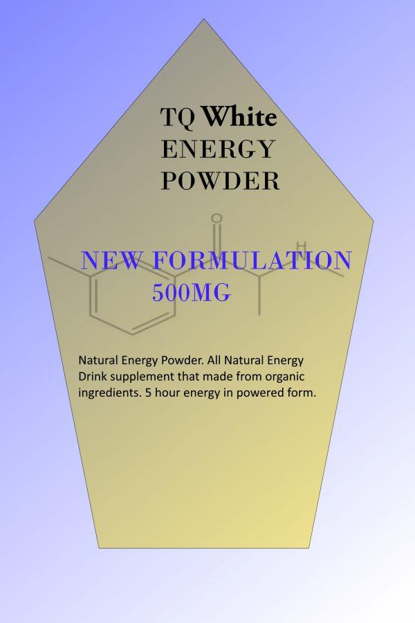 Tq White Energy powder