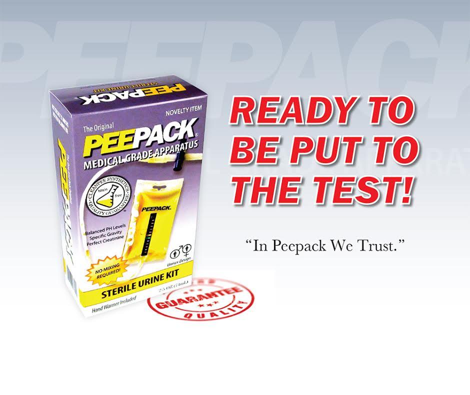 PEEPACK Sterile Urine Kit