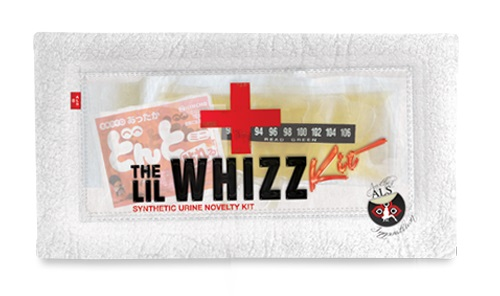 The Lil Whizz Synthetic Urine Kit