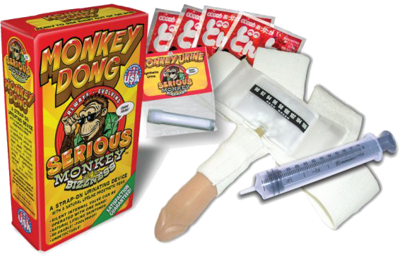 Monkey Dong Urinating Complete Kit
