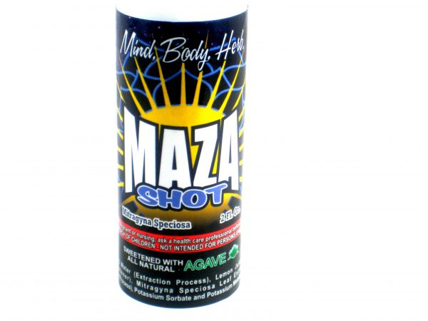 MAZA Relaxation Kratom Shot- 2oz