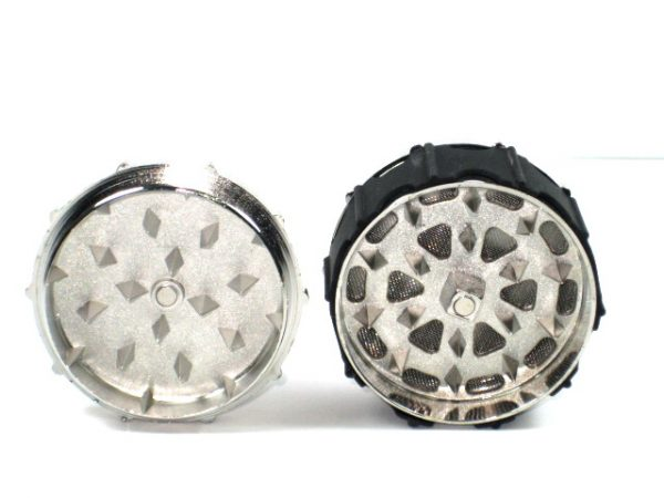 Metal Herb Grinder 3 part Snake Cobra Design