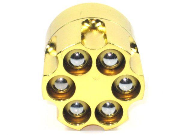 """Metal Herb Grinder 3 part """"Bullet Shape"""""""