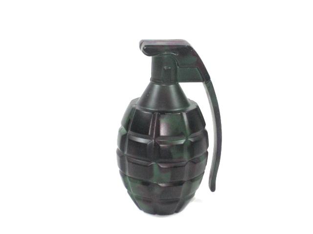 "Metal Herb Grinder 2 part ""Grenade Shape"