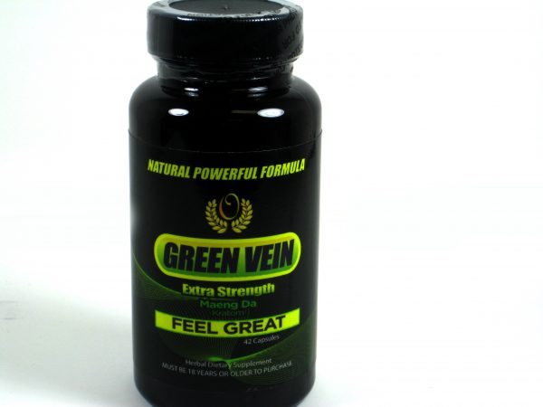 Green Vein Extra Strength Maeng Da Kratom- 70 caps