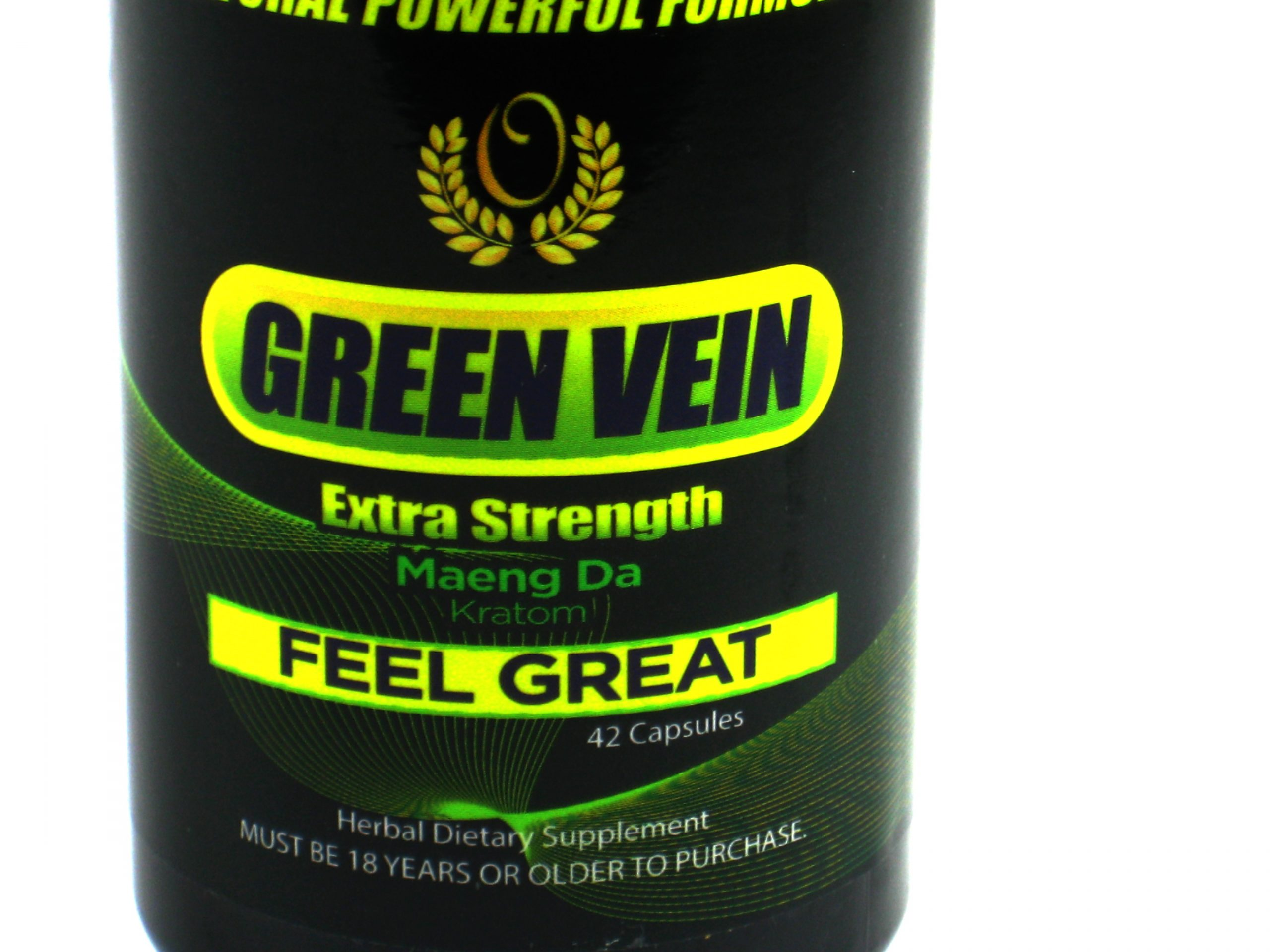 Green Vein Extra Strength Maeng Da Kratom- 70 caps