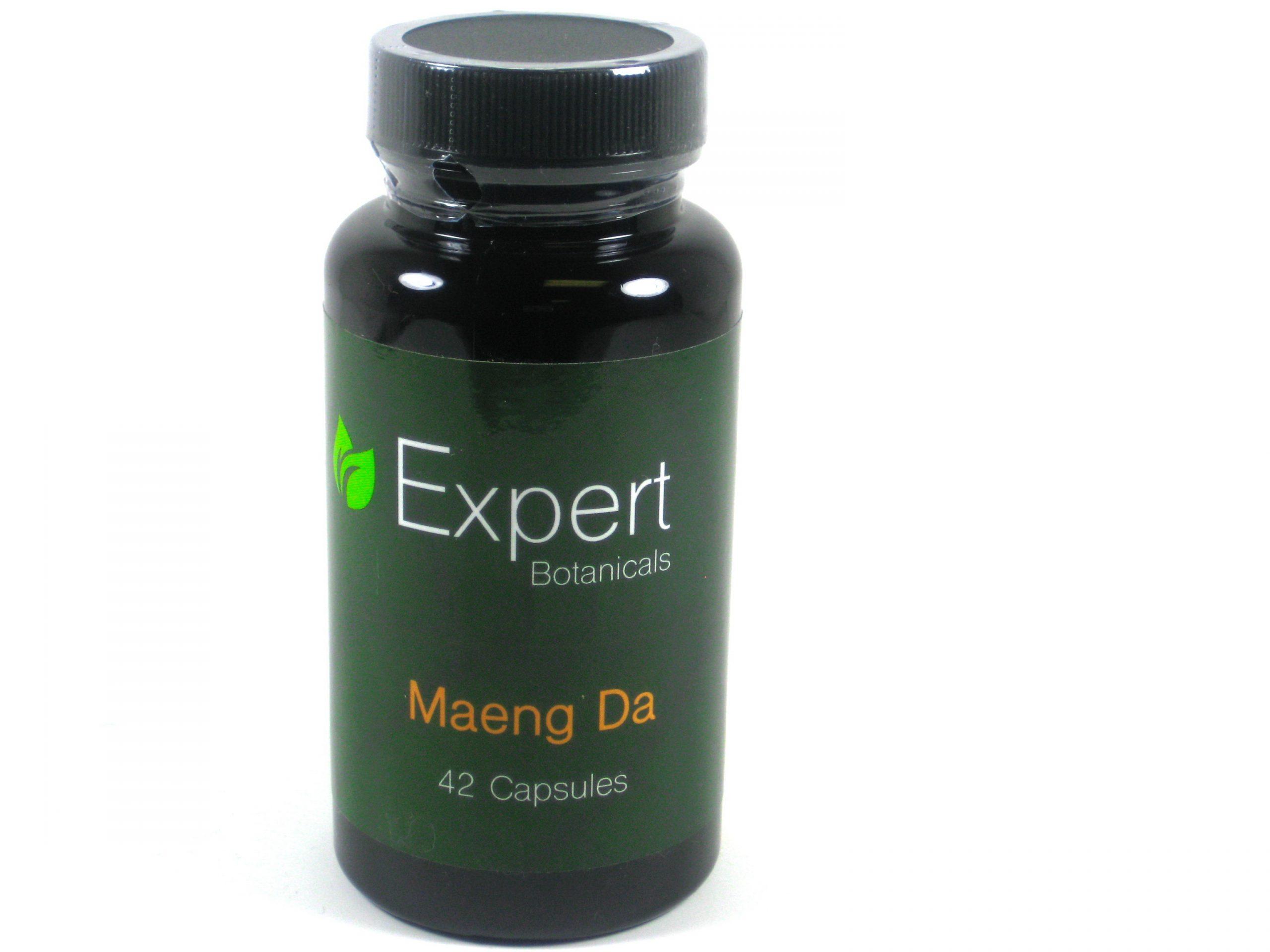 Expert Botanicals Maeng Da Kratom- 42caps