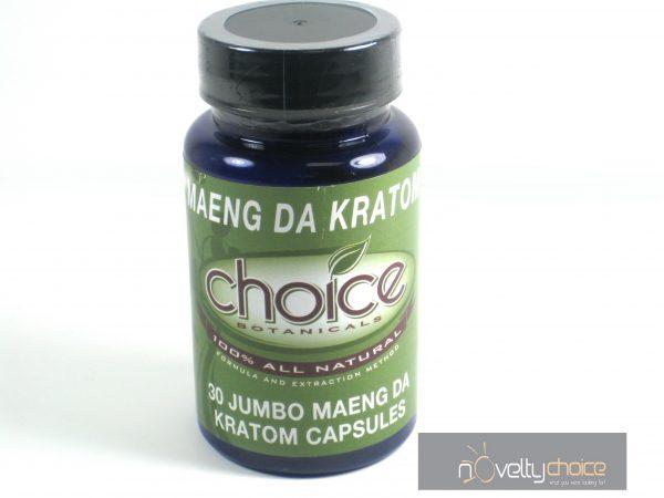 Choice Maeng Da Kratom- 30 Jumbo Caps