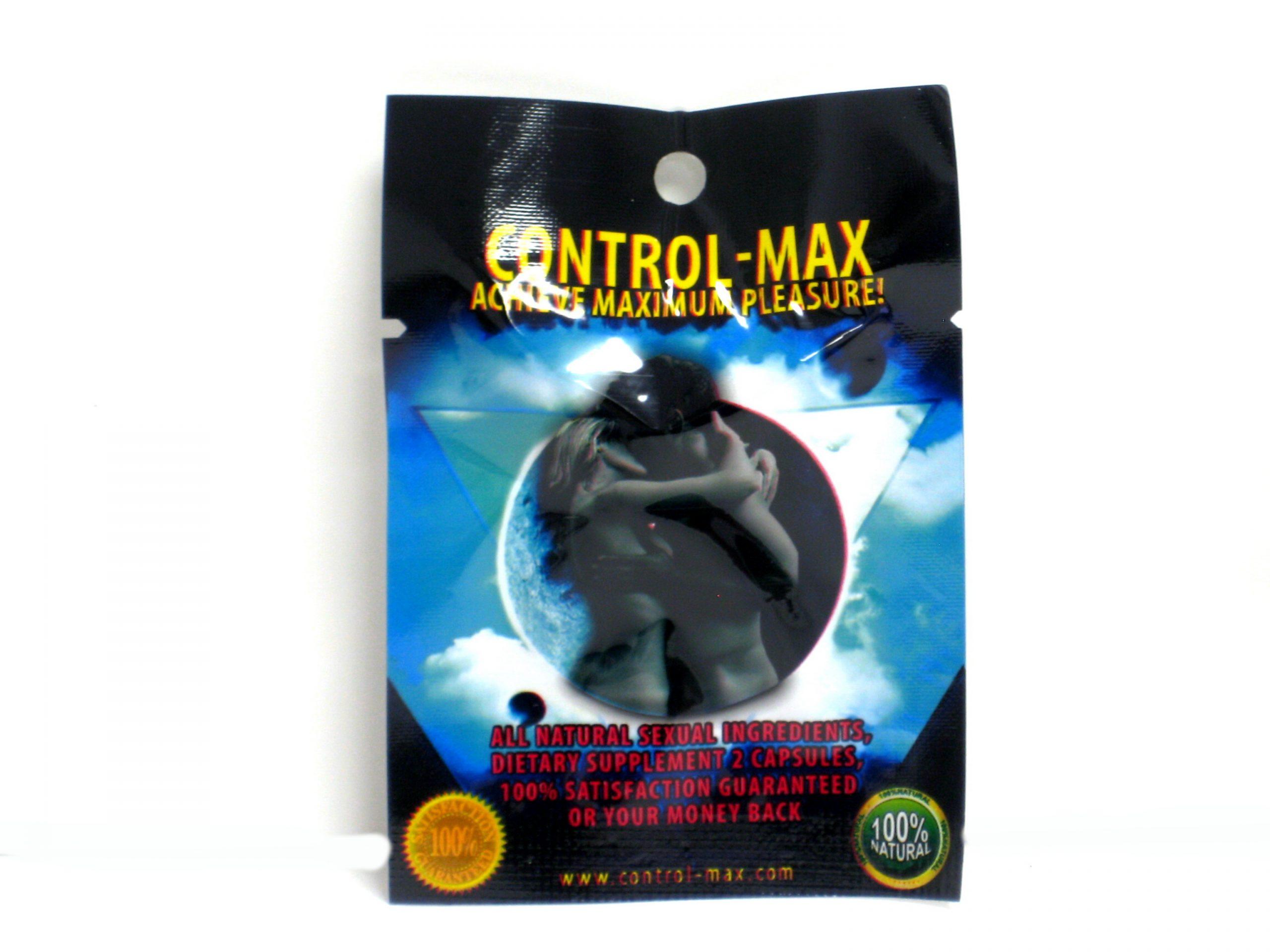 Control-Max Male Enhancement Pill- 2 capsules