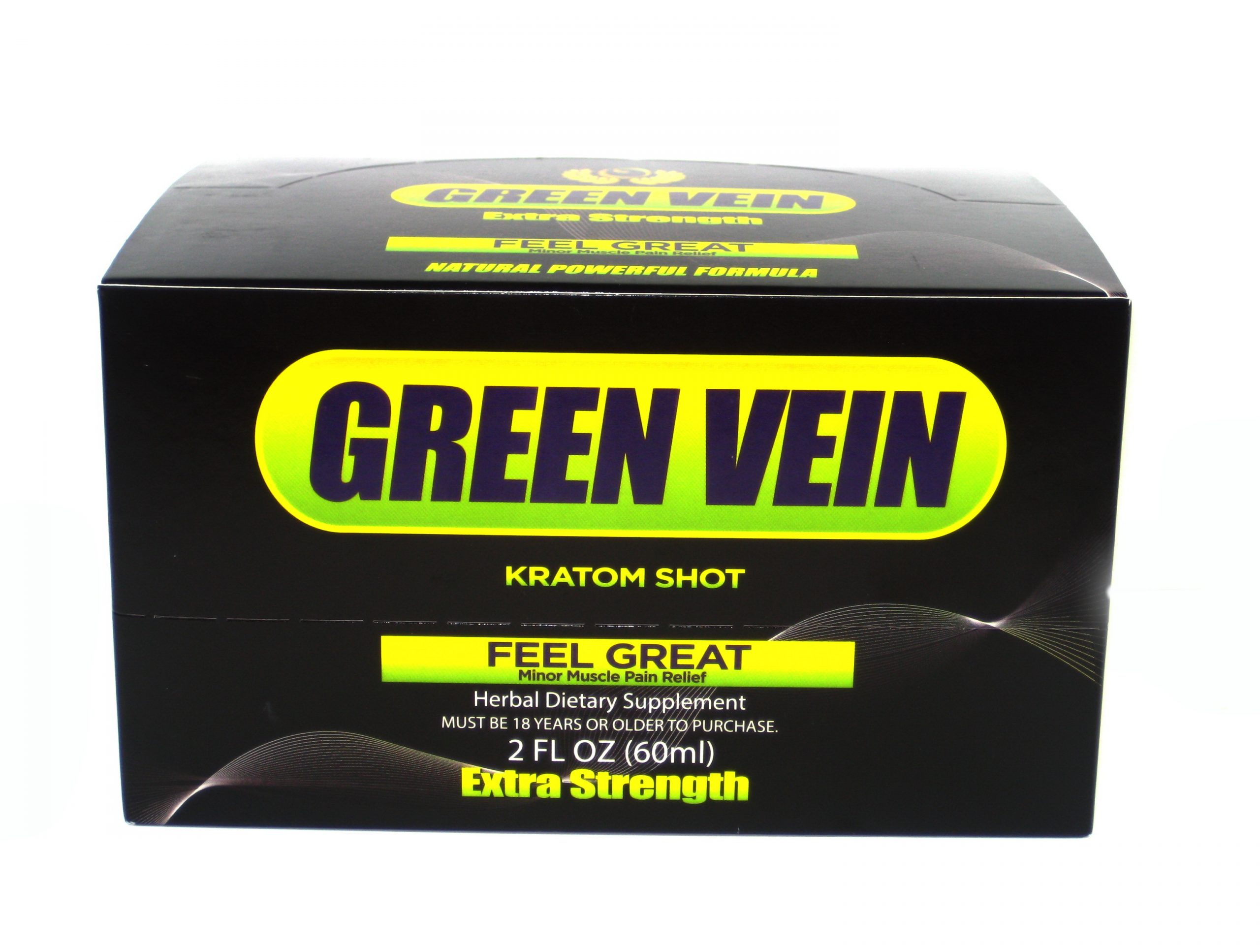 Green Vein Extra Strenth Kratom Shot- 2oz
