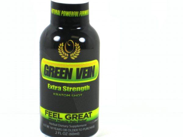 Green Vein Extra Strenth Kratom Shot- 2oz